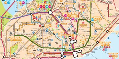 Lisbon map - Maps Lisbon (Portugal) on